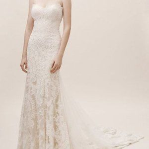 BHLDN Eddy K Leigh Gown Size 8 NEW